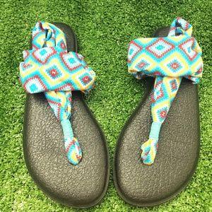 Sanuk sandals, nwot